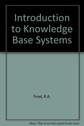 9780003831146: Introduction to Knowledge Base Systems