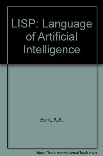 9780003831306: LISP: Language of Artificial Intelligence