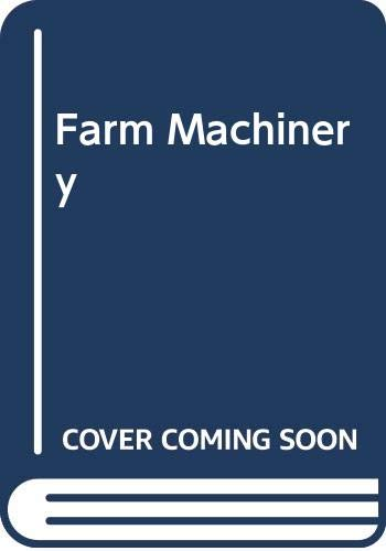 9780003831733: Farm Machinery 11th Ed