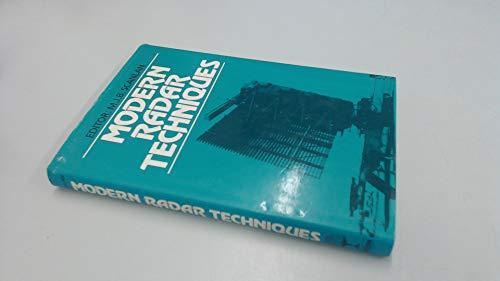 9780003831900: Modern Radar Techniques
