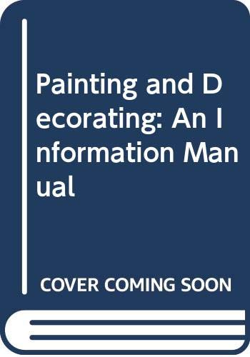 9780003832068: Painting and Decorating: An Information Manual