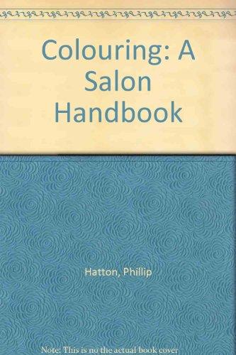 9780003832402: Colouring a Salon Handbook