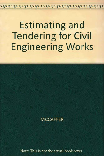 9780003832891: Estimating and Tendering for Civil Engineering Works