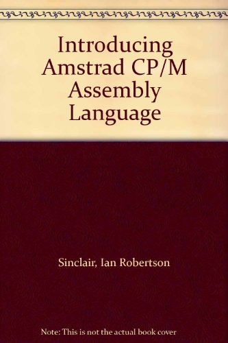 9780003833096: Introducing Amstrad CP/M Assembly Language