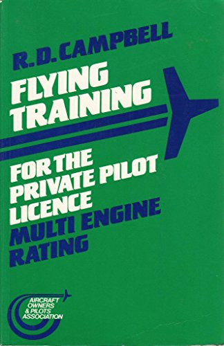9780003833522: Flying Training for the Private Pilot Licence: Multi-engine Rating