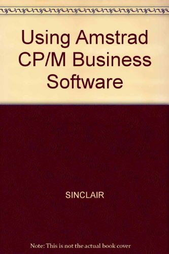 9780003833591: Using Amstrad CP/M Business Software