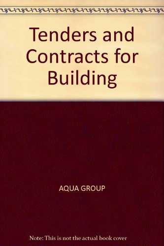9780003833614: Tenders and Contracts for Building