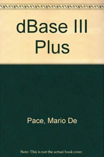 9780003833782: dBase III Plus