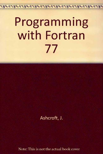 9780003833928: Programming with Fortran 77