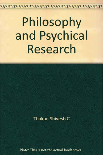 9780004100418: Philosophy and Psychical Research