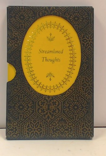 9780004103143: Streamlined Thoughts