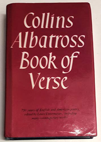 9780004105611: Albatross Book of Verse
