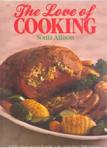 9780004112886: The Love of Cooking