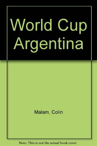 9780004116419: World Cup Argentina