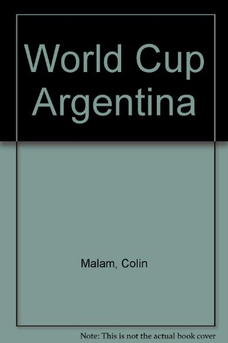 9780004116426: World Cup Argentina