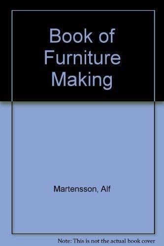 9780004117812: Book of Furniture Making