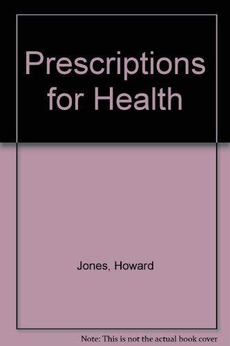 9780004120300: Prescriptions for Health