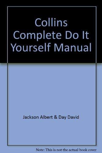 9780004124032: Collins Complete DIY Manual