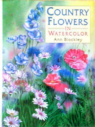Country Flowers in Watercolor