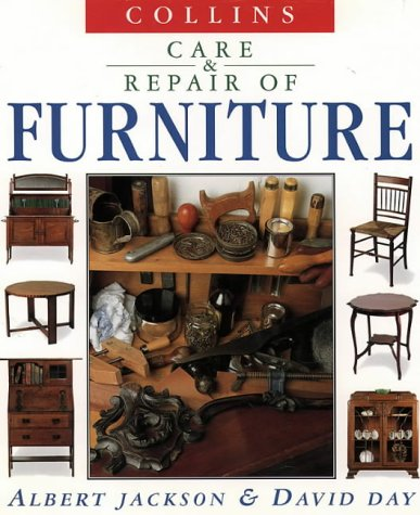 9780004127309: Care and repair of furniture