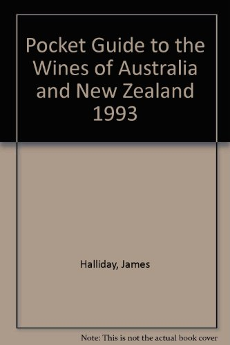 9780004128252: Pocket Guide to the Wines of Australia and New Zealand 1993