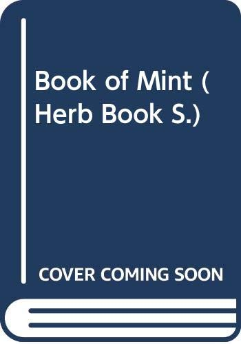 9780004128979: Book of Mint (Herb Book)
