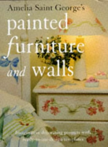 9780004129969: Amelia Saint George's Painted Furniture and Walls