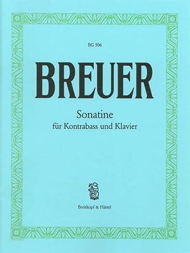 9780004130255: EDITION BREITKOPF BREUER PAUL - SONATINE IN E - DOUBLE BASS, PIANO Partition classique Cordes Contrebasse