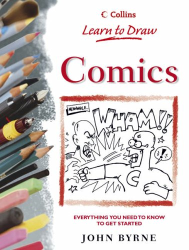 9780004134116: Comics (Collins Learn to Draw)