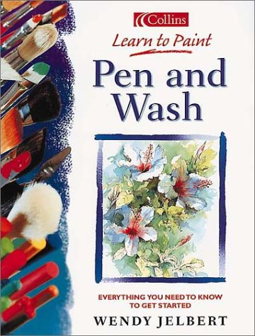 9780004134123: Collins Learn to Paint - Pen and Wash