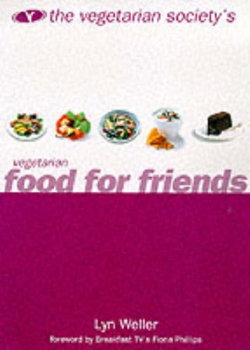 9780004141091: The Vegetarian Society's Vegetarian Food for Friends