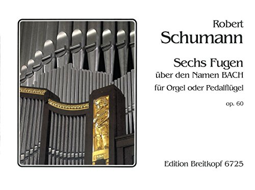 9780004169279: Sechs fugen op. 60 orgue