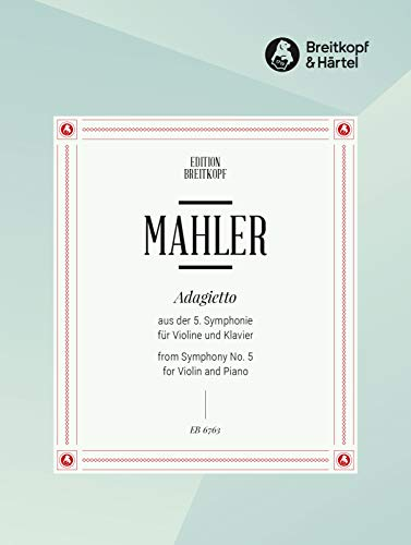 9780004169644: MAHLER - Adagietto de la Sinfonia nº 5 para Violin y Piano (Wittinger)