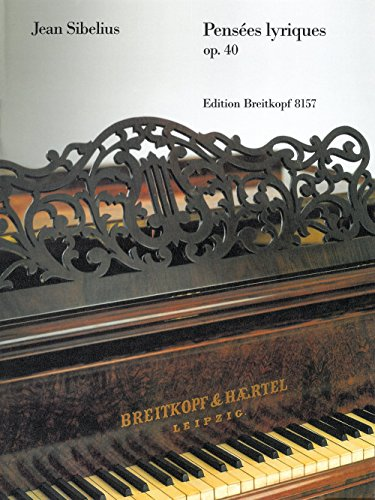 9780004175386: EDITION BREITKOPF SIBELIUS JEAN - PENSEES LYRIQUES OP.40 - PIANO Classical sheets Piano