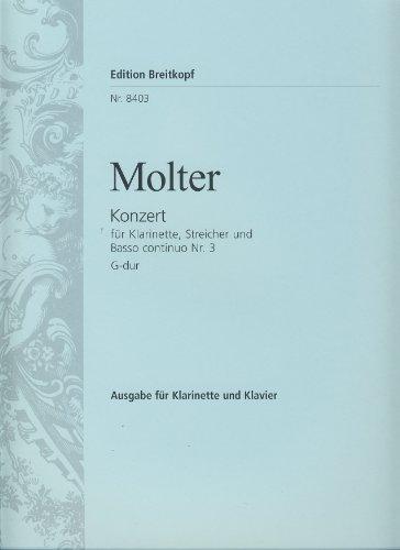 9780004177090: Klarinettenkonzert Nr. 3 G-dur - Ausgabe für Klarinette [D] und Klavier, mit zusätzl A-Klarinetten.-Stimme (EB 8403)