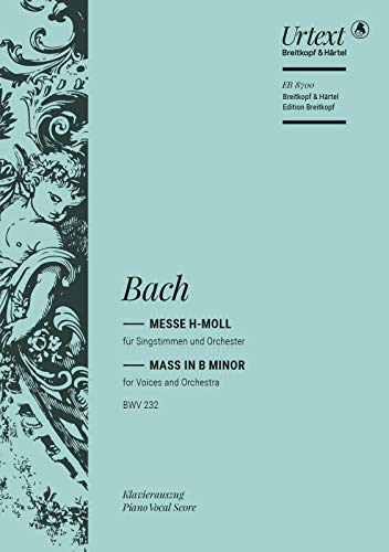 9780004182513: EDITION BREITKOPF BACH J.S. - MESSE H-MOLL BWV 232 Classical sheets Choral and vocal ensembles