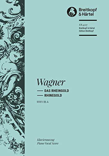 9780004182995: EDITION BREITKOPF WAGNER R. - RHEINGOLD WWV 86 A - PIANO Classical sheets Piano