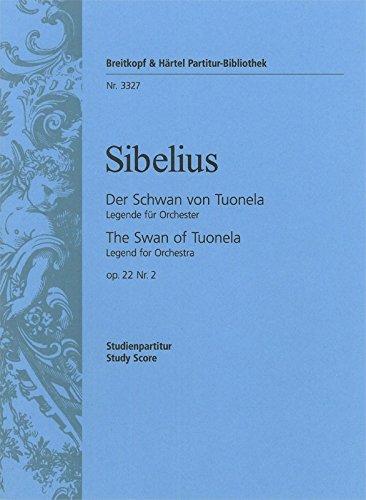 9780004200750: EDITION BREITKOPF SIBELIUS JEAN - DER SCHWAN VON TUONELA OP.22/2 - ORCHESTRA Classical sheets Full score