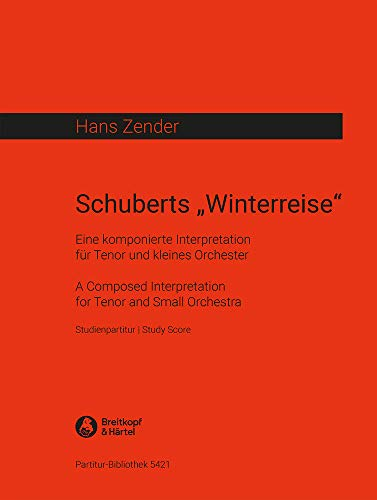 9780004209951: Schuberts 'Winterreise' - Eine komponierte Interpretation - Studienpartitur (PB 5421)