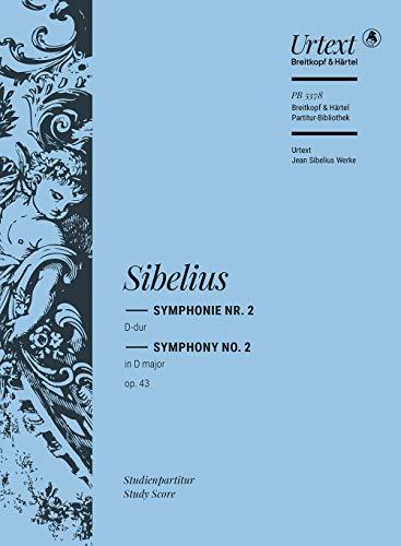 9780004211428: EDITION BREITKOPF SIBELIUS J. - SYMPHONIE NR. 2 D-DUR OP. 43 Classical sheets Pocket score