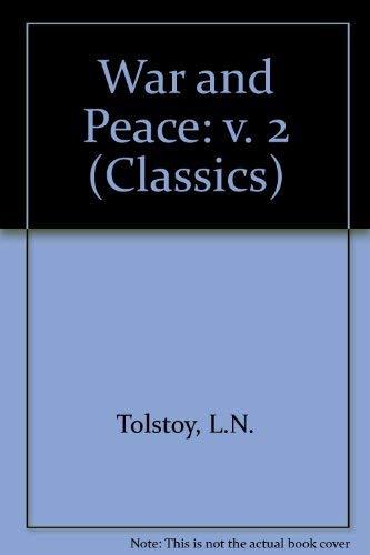 9780004216669: War and Peace: v. 2 (Classics)