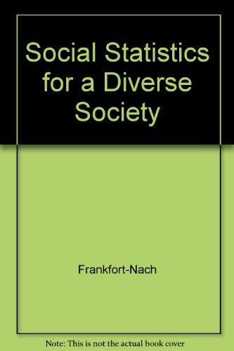 9780004303109: Social Statistics for a Diverse Society