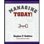9780004308494: MANAGING TODAY!-TEXT ONLY