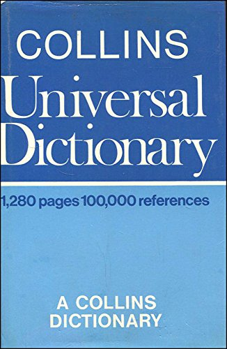 9780004330051: Collins Universal Dictionary
