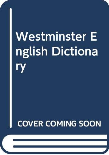 9780004330617: Westminster English Dictionary