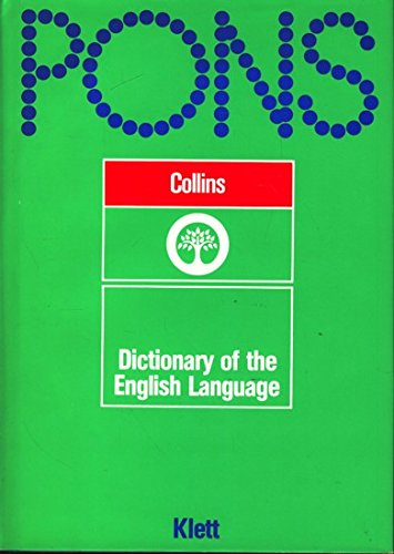 9780004330785: Collins dictionary of the English language