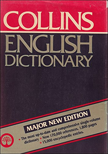 9780004331348: The Collins English Dictionary
