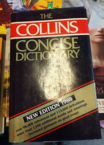 9780004331614: The Collins Concise English Dictionary