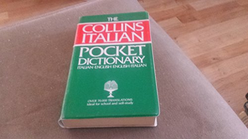 9780004332031: Collins Pocket Italian Dictionary: Italian-English, English-Italian