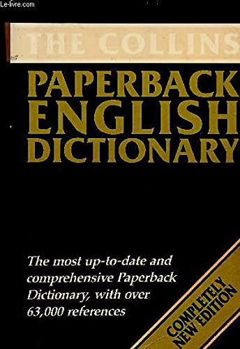 9780004332451: The Collins Paperback English Dictionary